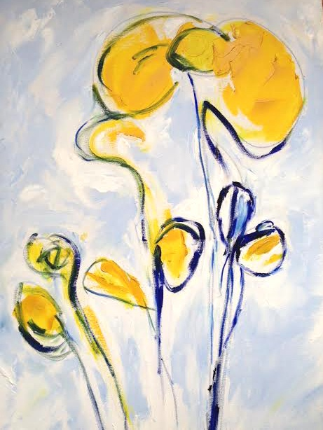 Yellow Blooms, 2005