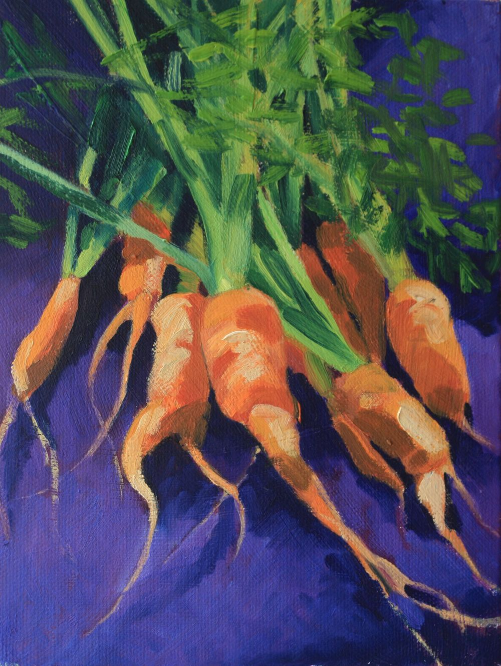 Heirloom Carrots from my Garden