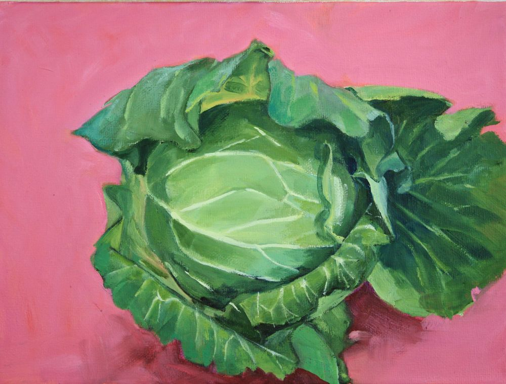 Cabbage from Honest Weigh Food Co-op