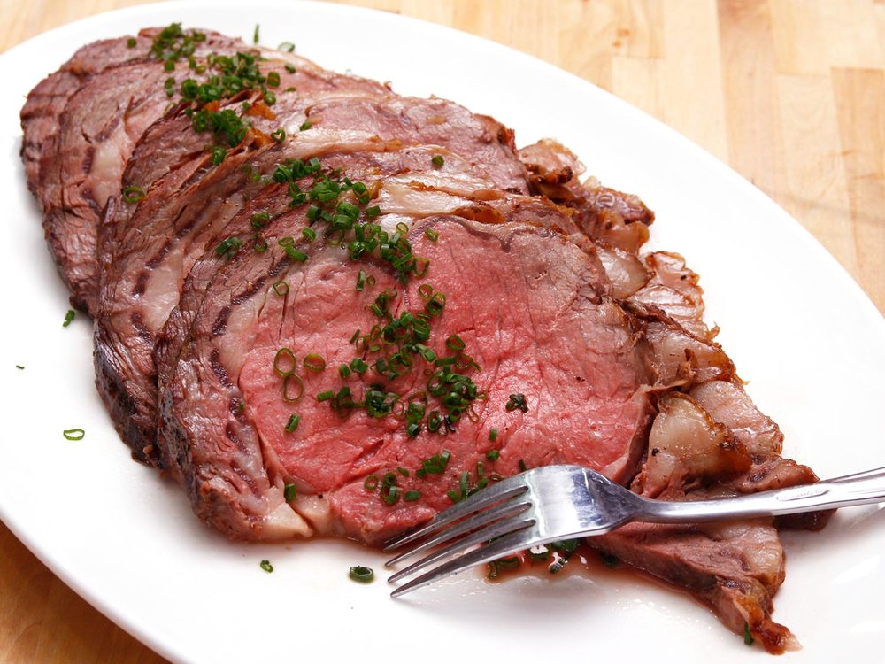 I was enjoying the party too much to take my own picture. This is from seriouseats.com but it looks exactly like my roast. Yay.