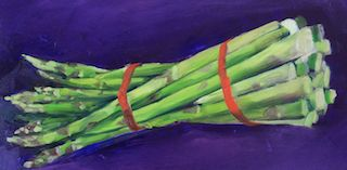 Asparagus © Laura Shore 2014 from Barber Farms in Middleburg, NY