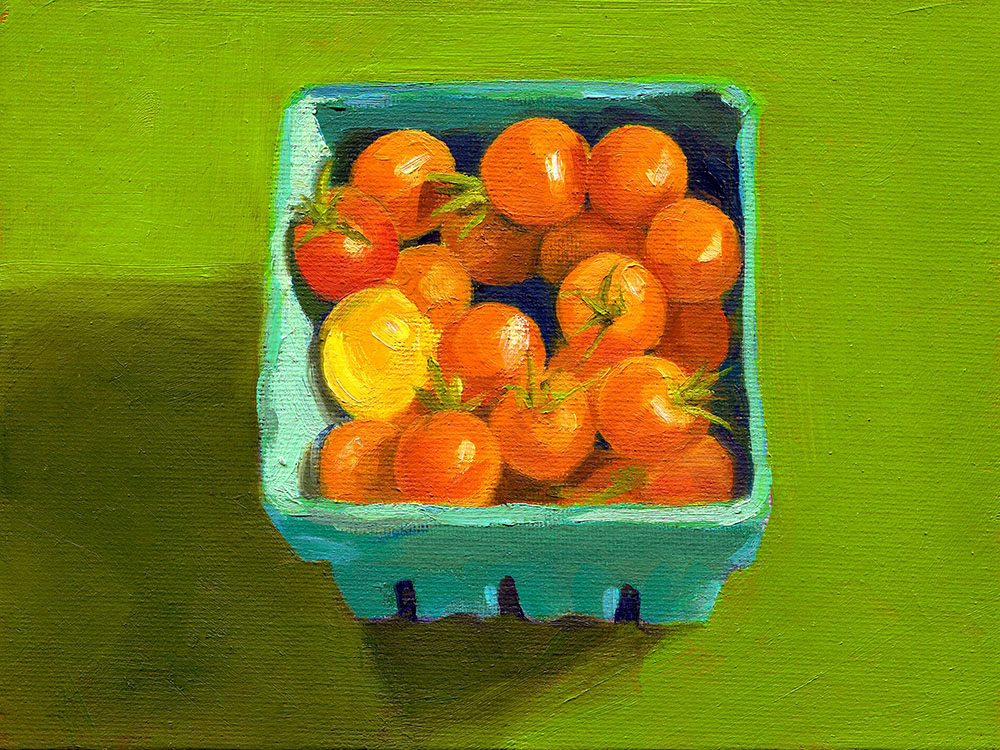 Sungold Cherry Tomatoes from the Garden