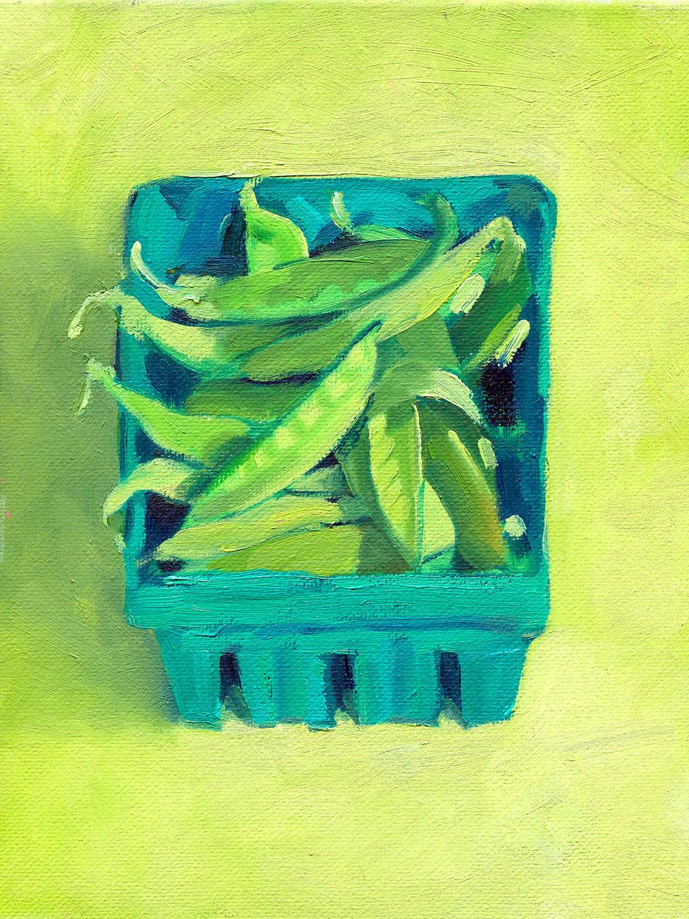 Late Season Peas Harvested from CSA