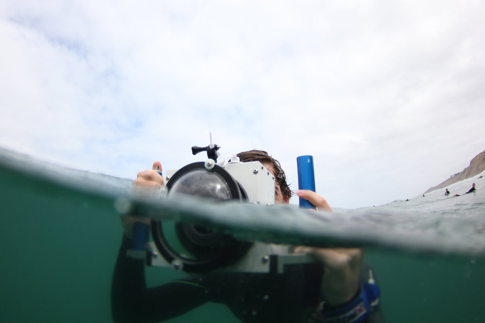 Camera Housing 1.0 - Fully waterproof, tough water housing designed for surf photography.