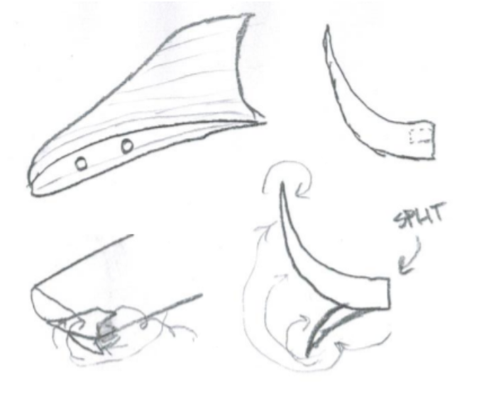 Early Winglet Designs