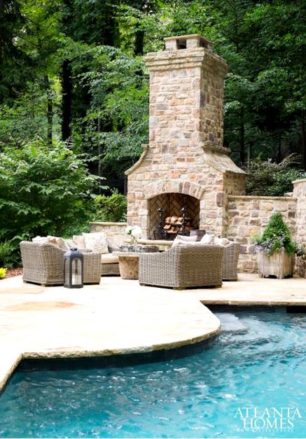 Siamo La Luce outdoor stone fireplace.jpg
