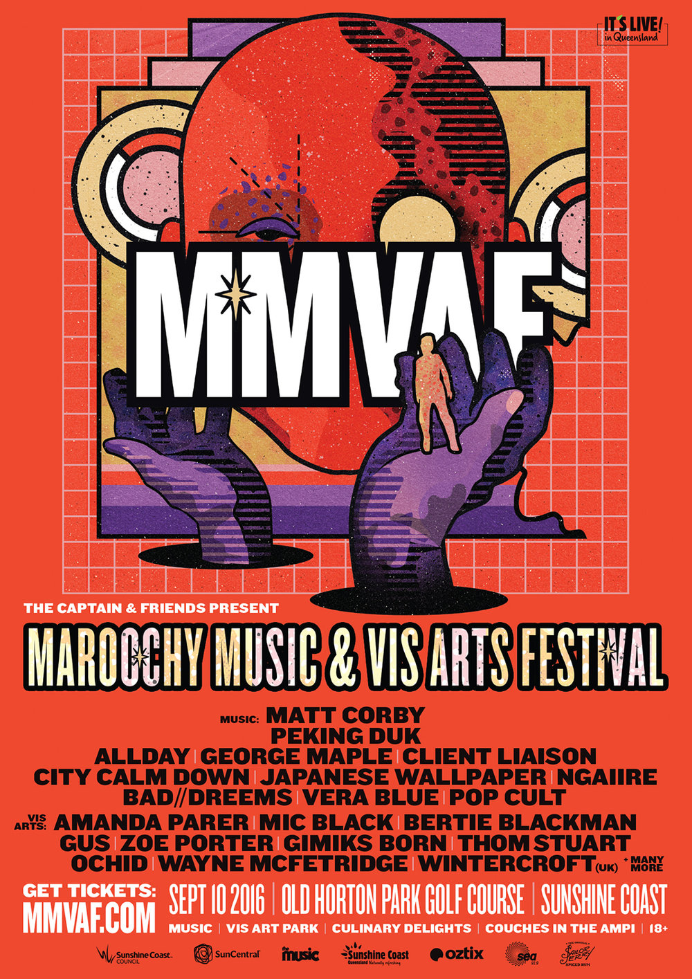 Copy of Maroochydore Music and Visual Arts Festival - Graphic Design - Sunshine Coast