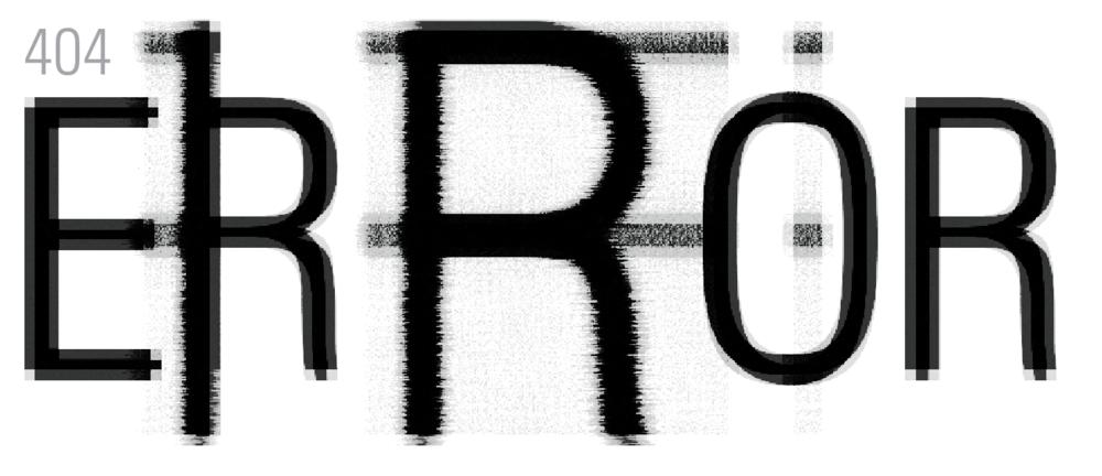 404 Error TypographHer