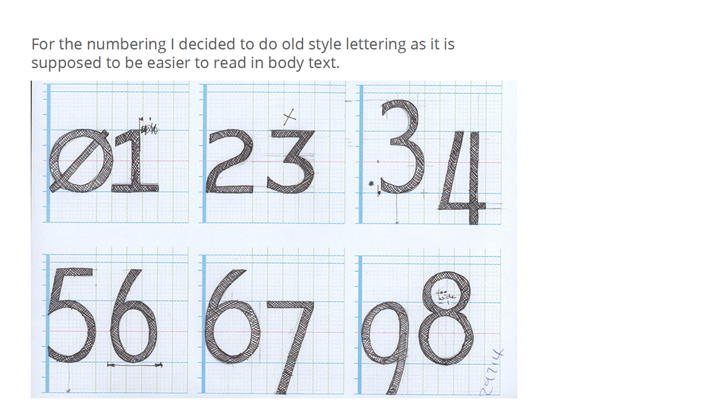 The character set is expanded to numerals, punctuation and foreign letters