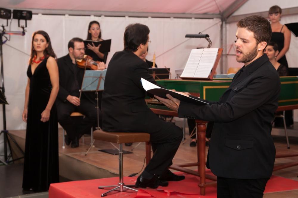 Dido and Aeneas - With La Nouvelle Ménestrandie · Conductor: Leonardo García Alarcon - Dido: Solenn Lavanant Linke - Variations Musicales de Tannay 2010 (Geneva -CH)