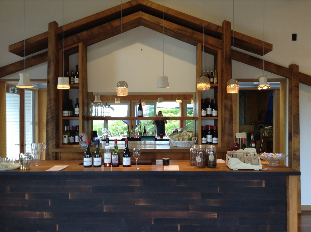 The Tasting Counter inside.