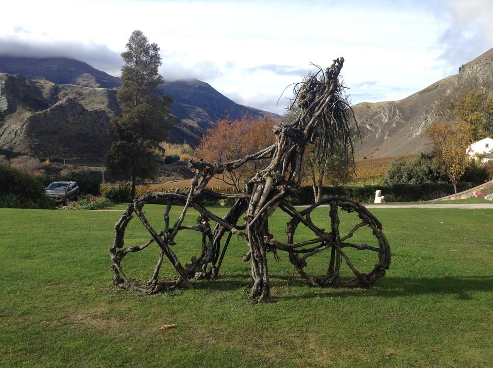 Chard Farm's 'Wild Biker Chick'