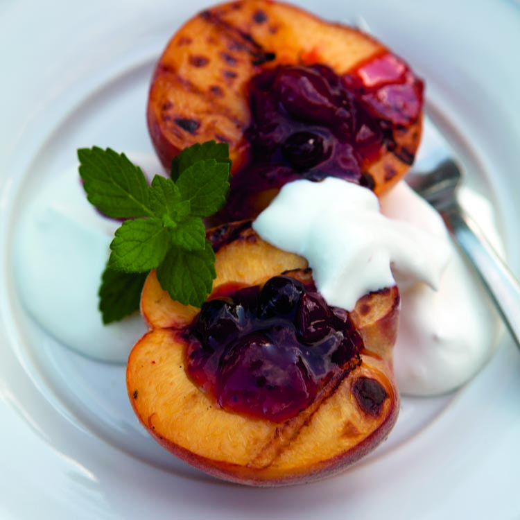 Grilled Peaches - SEE RECIPE