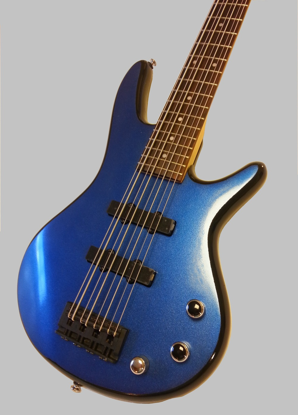 Close up of 8 String Bass