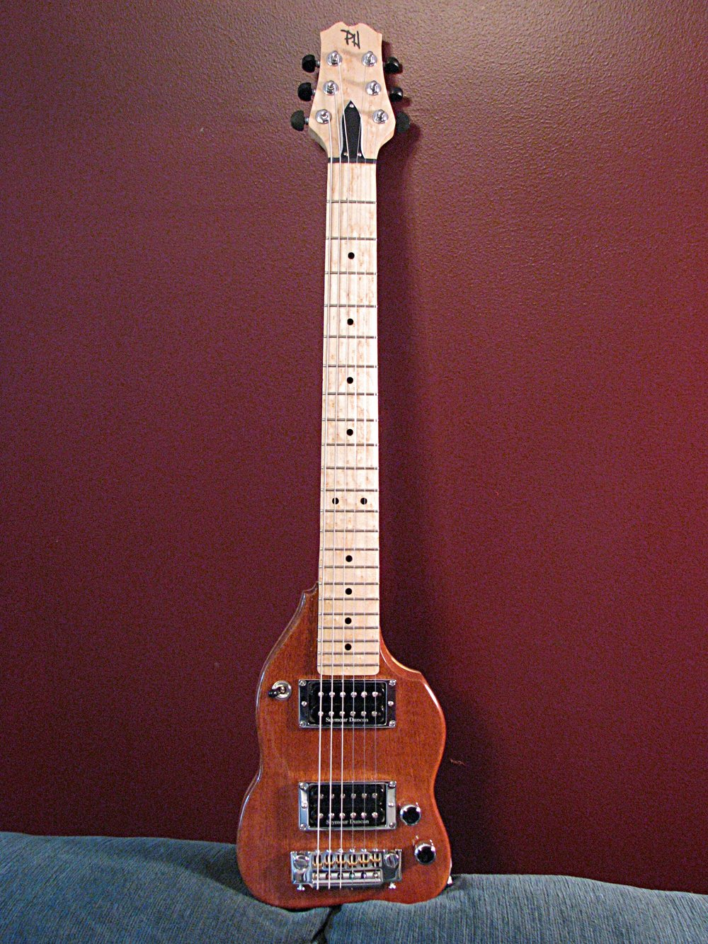 The Prototype Stage Travel Guitar
