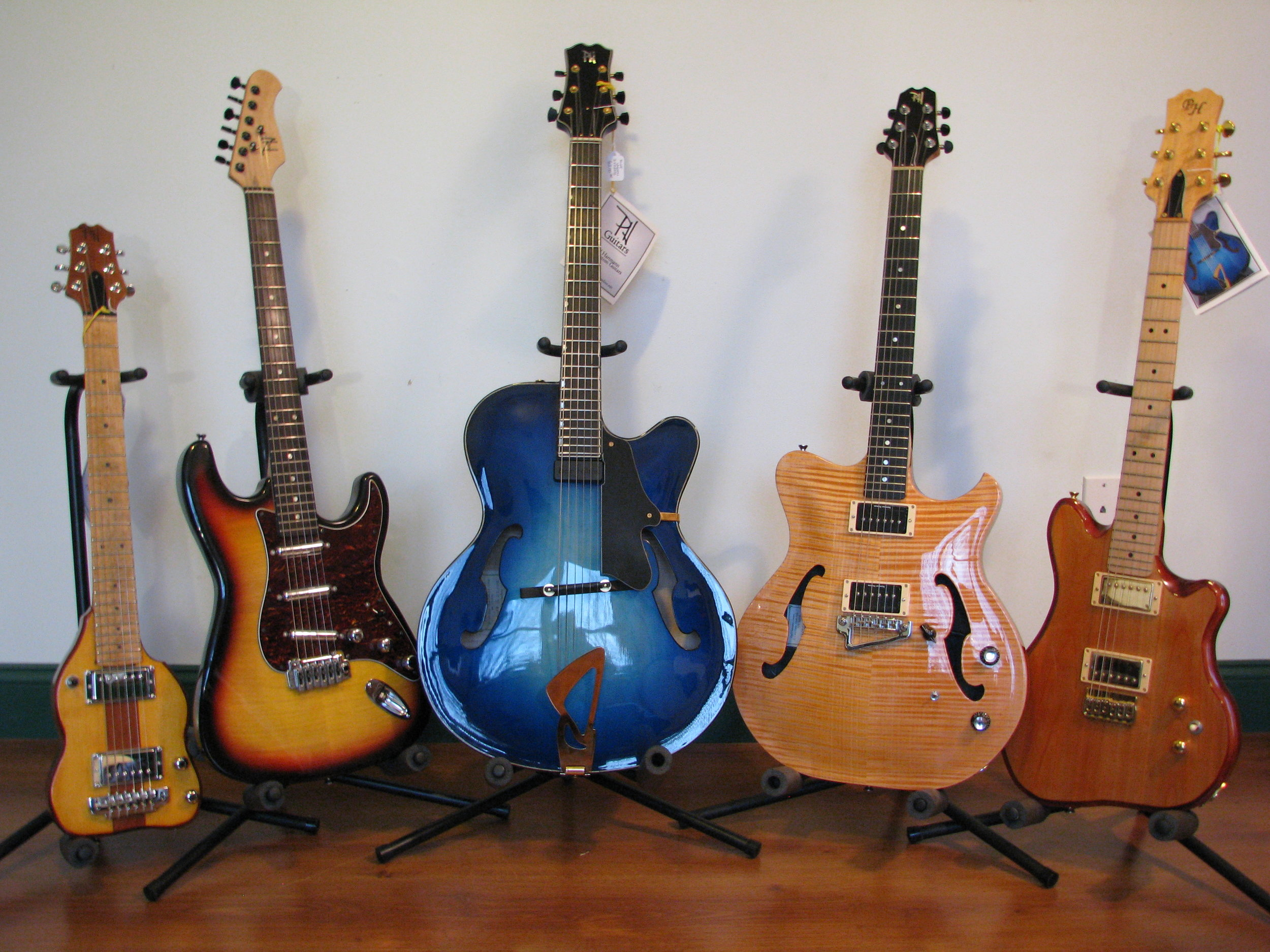 Pricing And Warranty Paul Hartmann Fine Custom Guitars Handmade Basses Electric Guitar Parts You Dont Need A One Trick Pony