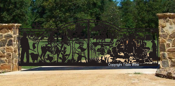 Pure Texas-Double gate- 5' x 24'