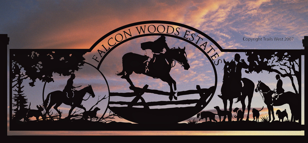 FALCONWOOD ESTATES  16' Single Swing