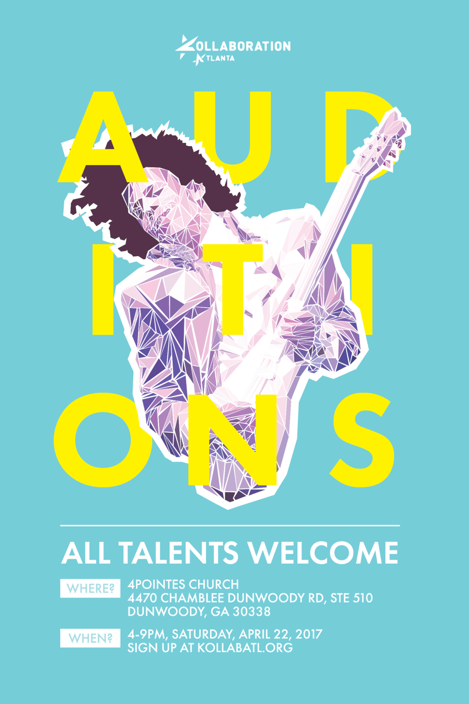 Kollaboration Auditions (Alternate) - A variation of above that I prefer.