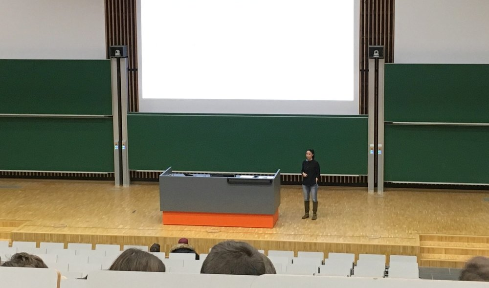 Audimax der Uni Duisburg Essen