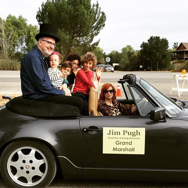 Los Olivos Day in the Country. Grand Marshall Jim