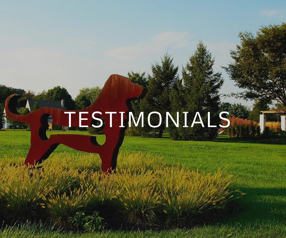 Fernhill Landscapes Client Testimonials in Lancaster, PA