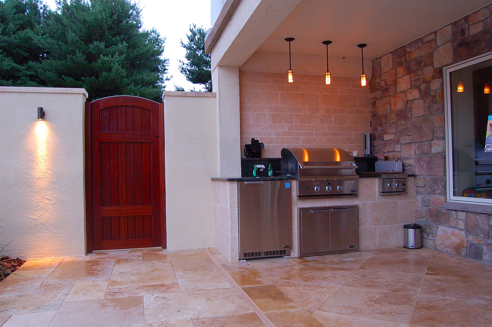 Millersville, PA outdoor kitchen design