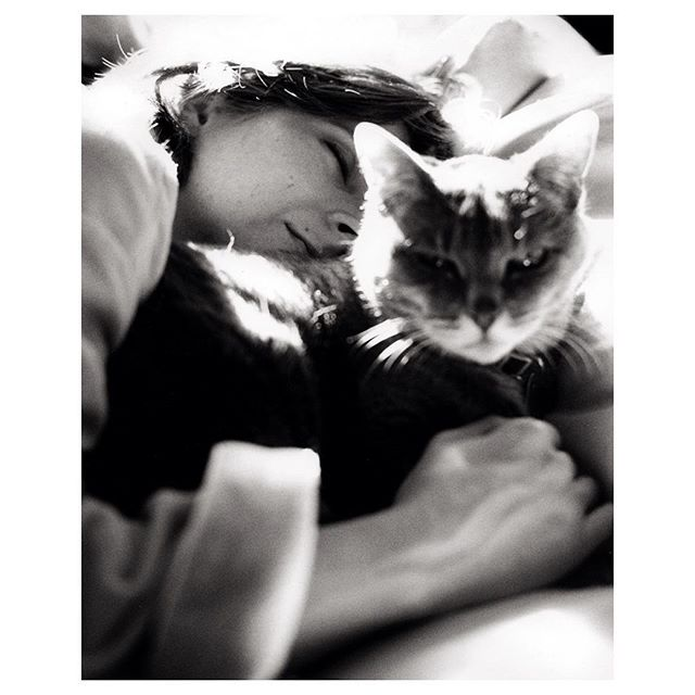 Alissa and Rascal, Baltimore, 2007,