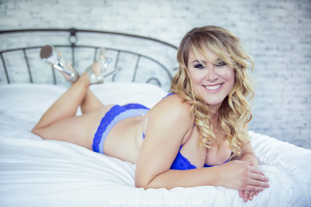 Natural Beauty with an hourglass figure - Gorgeous Boudoir in Charleston, SC by Boudoir by Marie