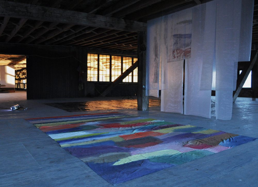 installation view , Pioneer Works, Red Hook, New York, 2012