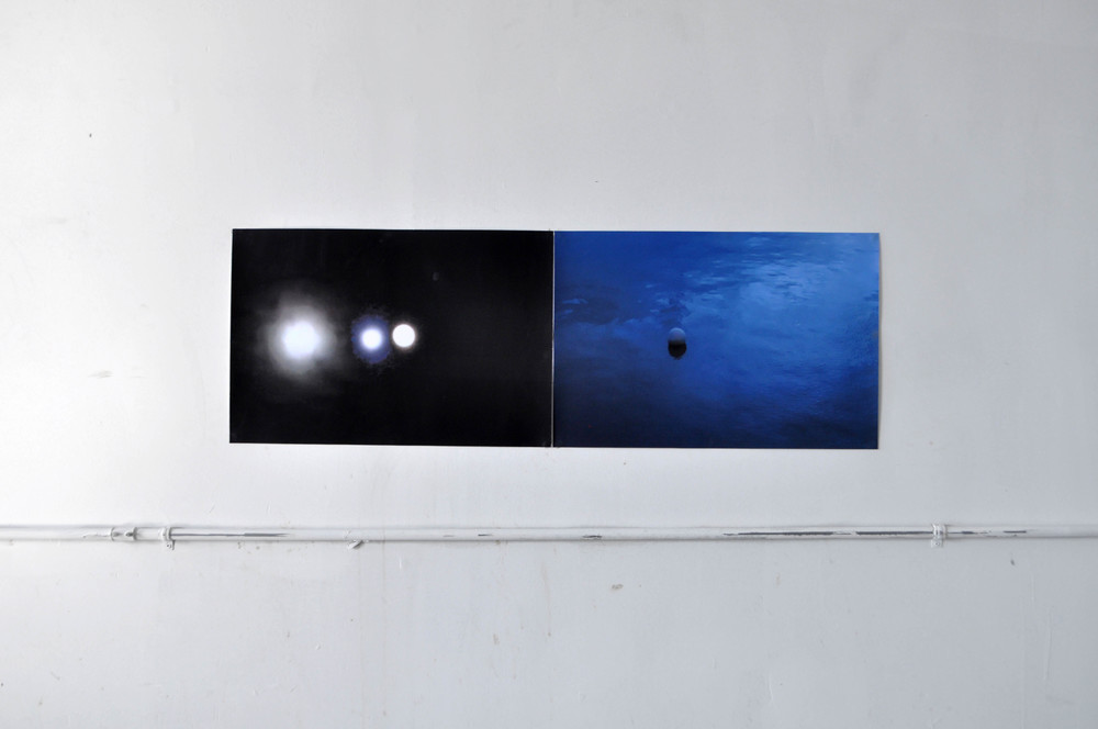 Monde (full) ; Honmura Blue,  2014 c-print dimensions variable
