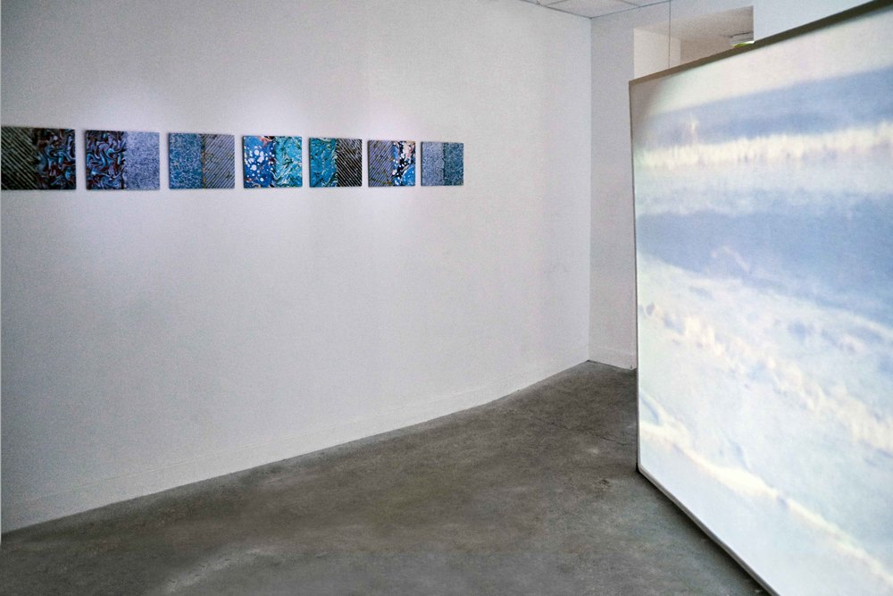 installation view , Le Huit, Paris, 2015   photo by Claire Désérable