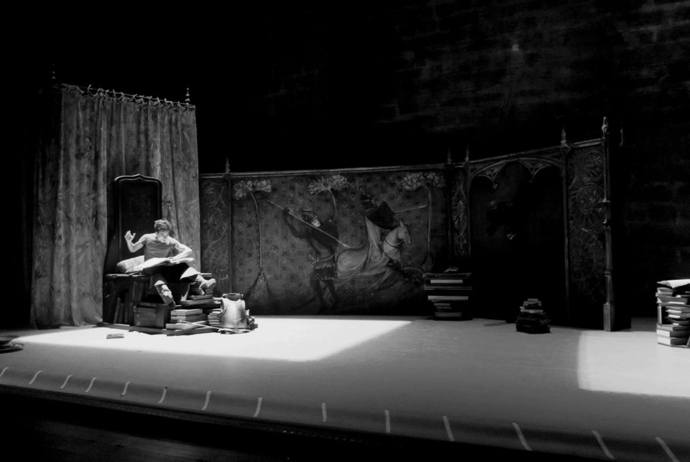 Prologue ,  Don Quichotte , rehearsal