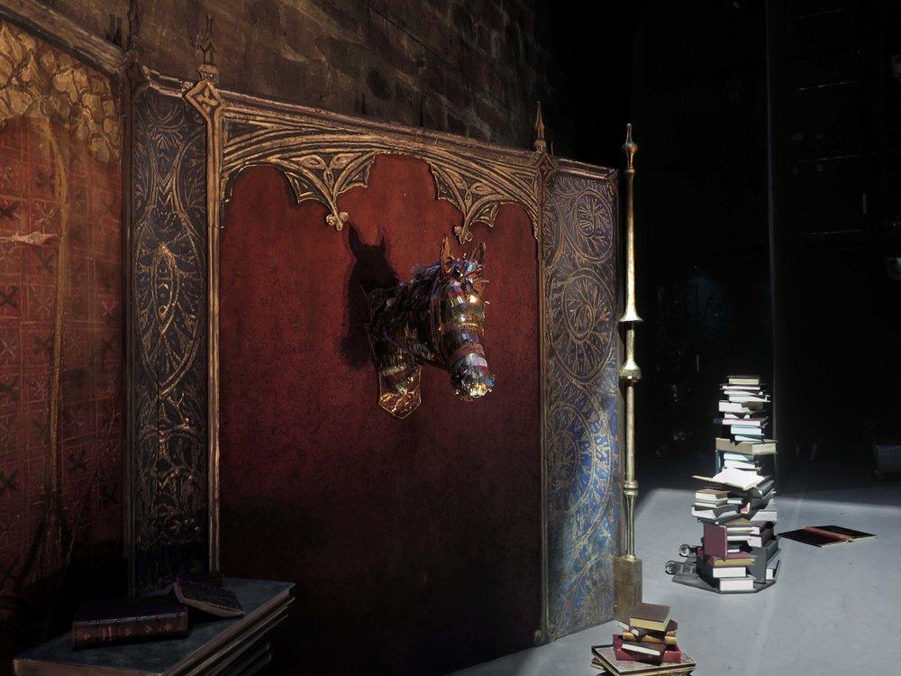 Prologue ,  Don Quichotte , detail