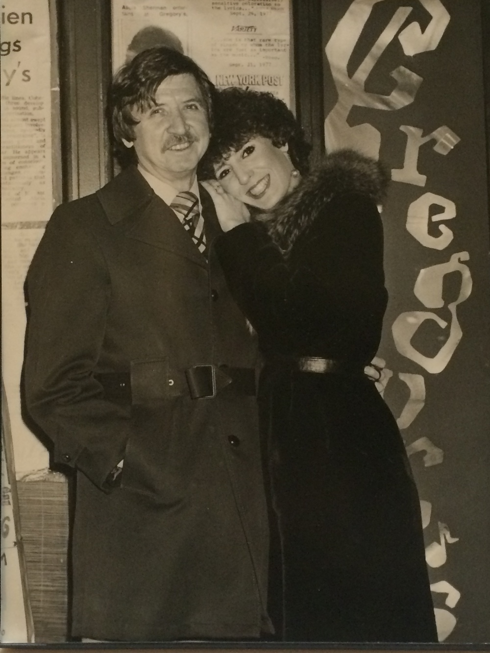 My parents, Gregory's owners Norman Silver and Alicia Sherman.