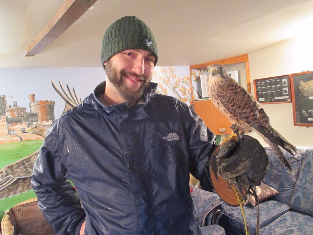 Billy and his Kestrel