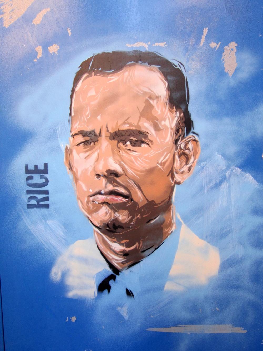 RICE Tom Hanks in London Shoreditch