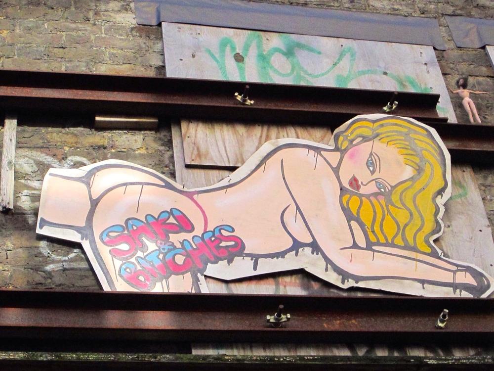 SAKI & BITCHES in London Shoreditch