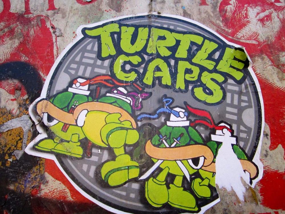 Turtle Caps in London Shoreditch