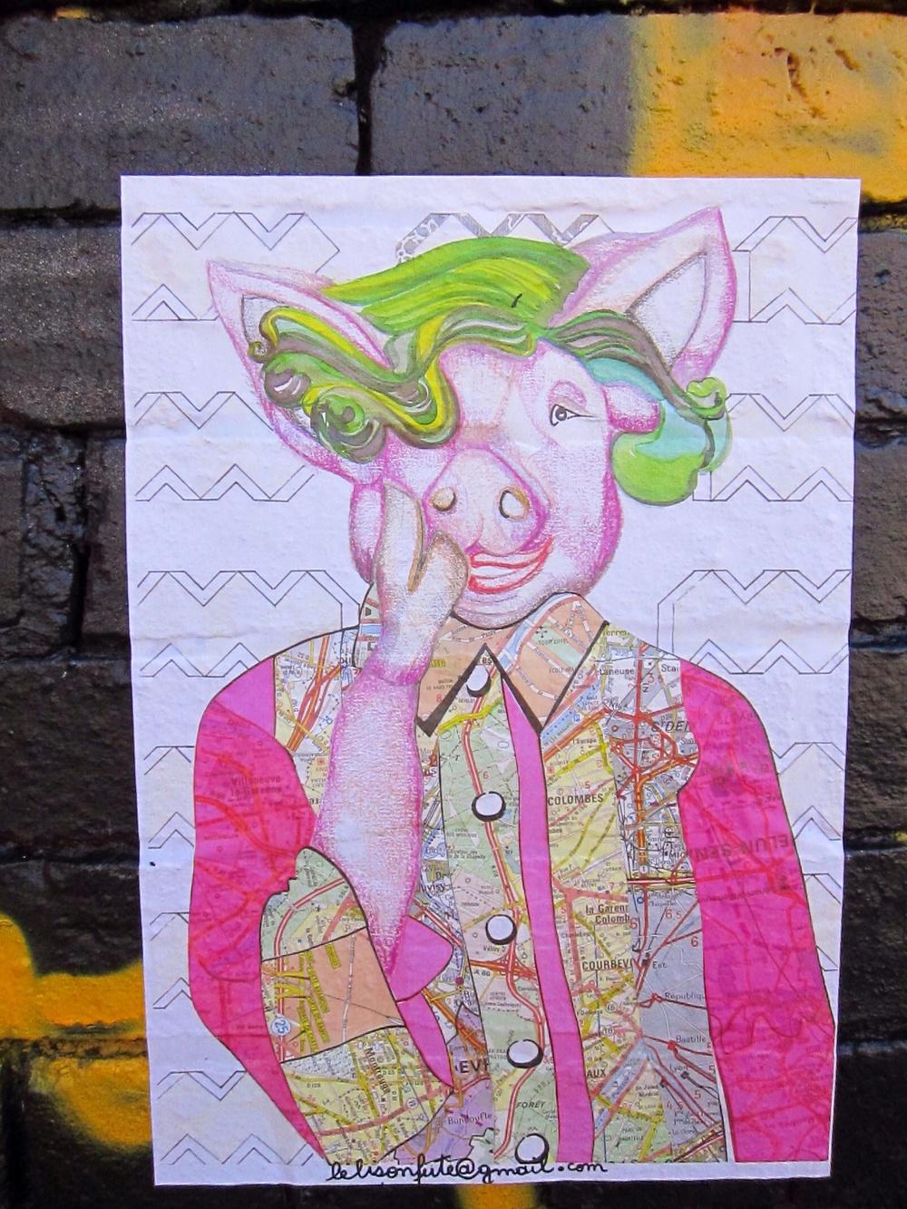 LELISONFUTE Pig London Shoreditch
