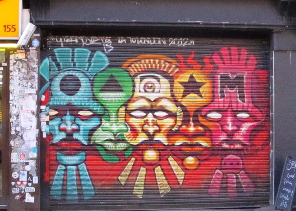 Brick Lane Art London Shoreditch