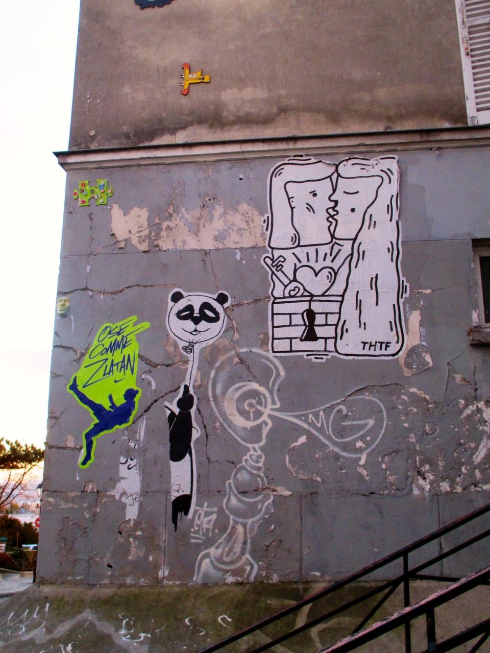 Misc Pieces Montmartre Paris