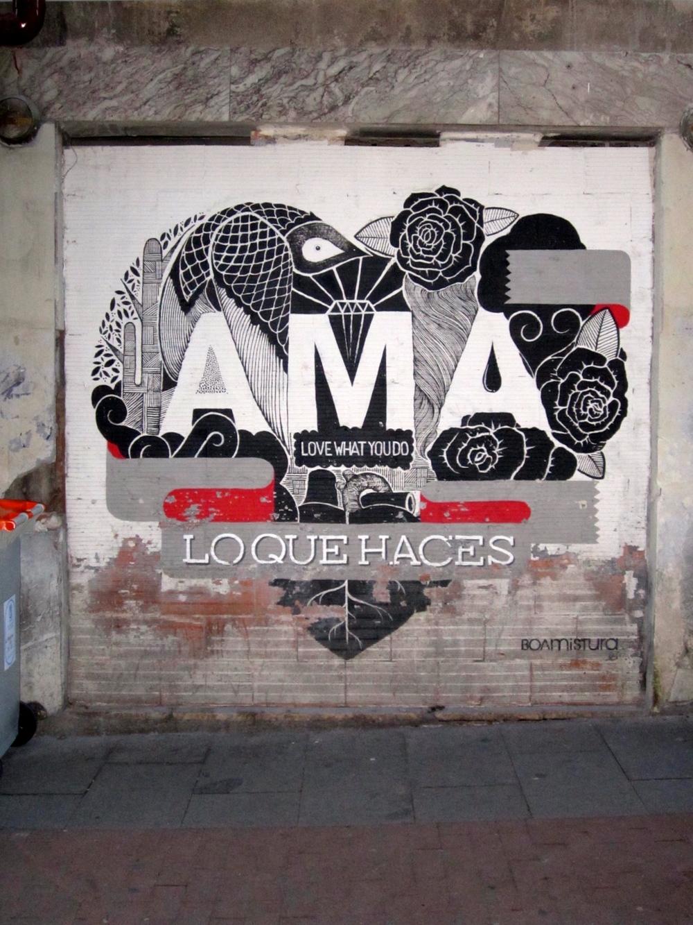 BOA MISTURA Madrid Street Art