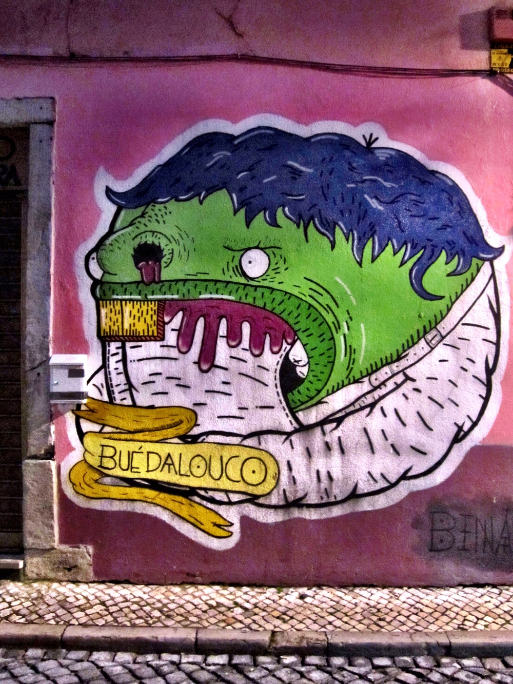 Pharmacia de Cultura Lisbon Street Art