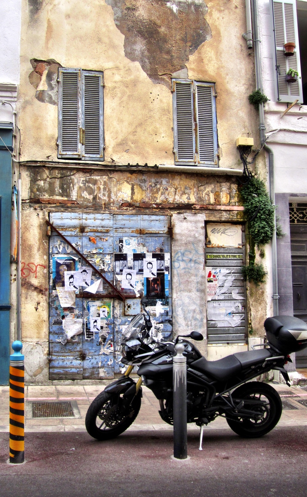 Layered Marseille Street Art