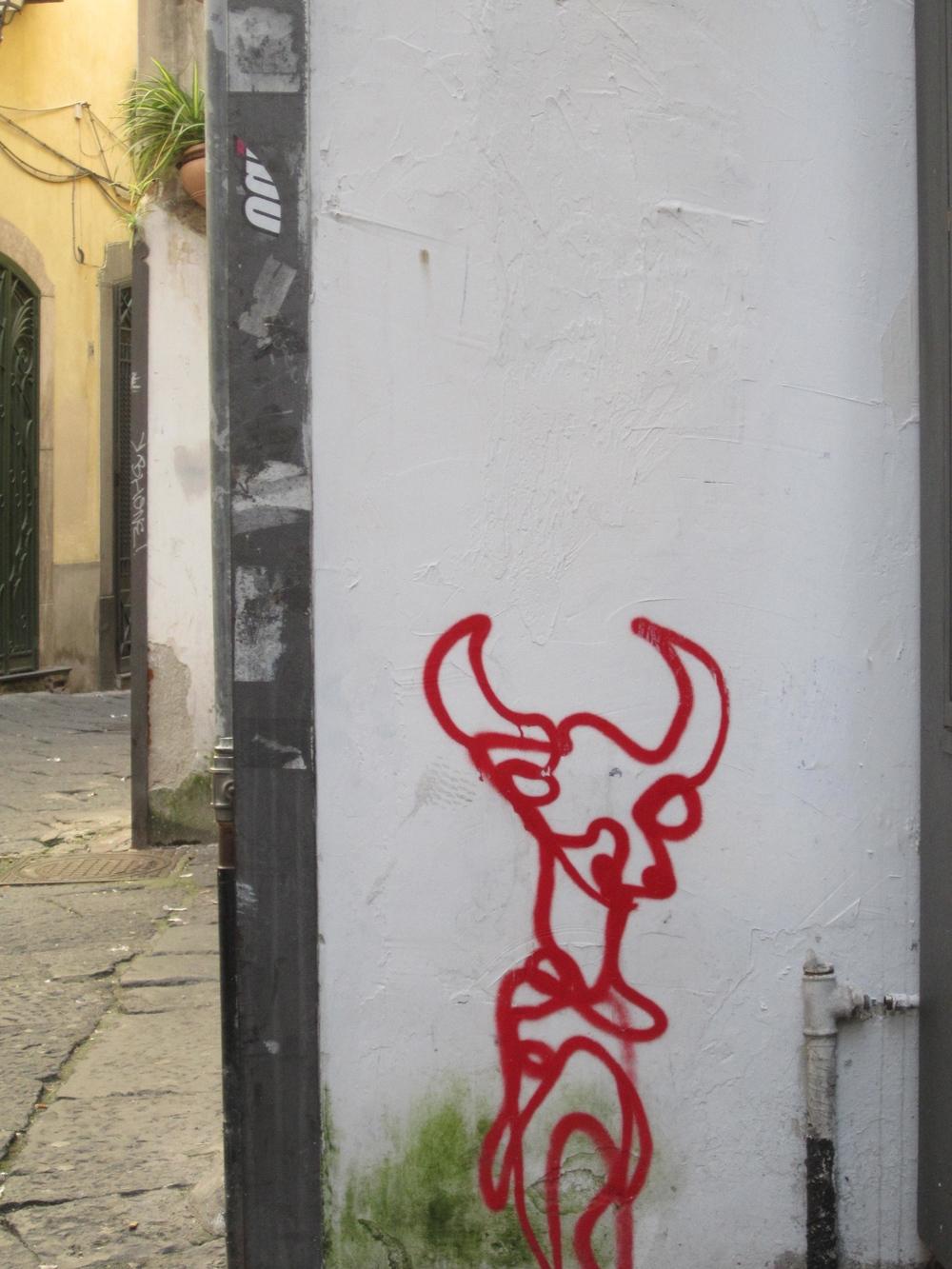 Bull in Salerno