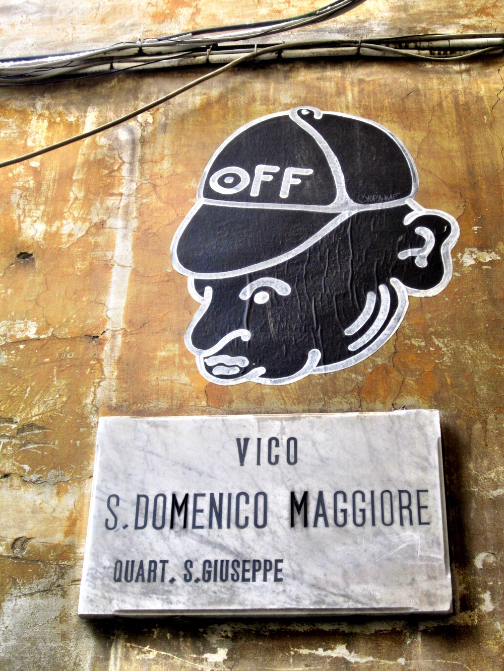 CYOP & KAF Naples Street Art