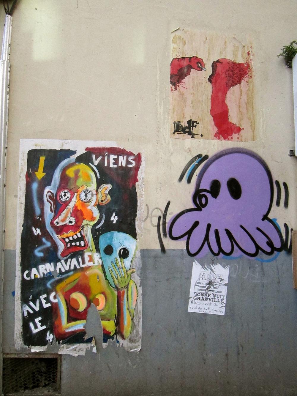 GZ' UP; Misc Art Montmartre Paris