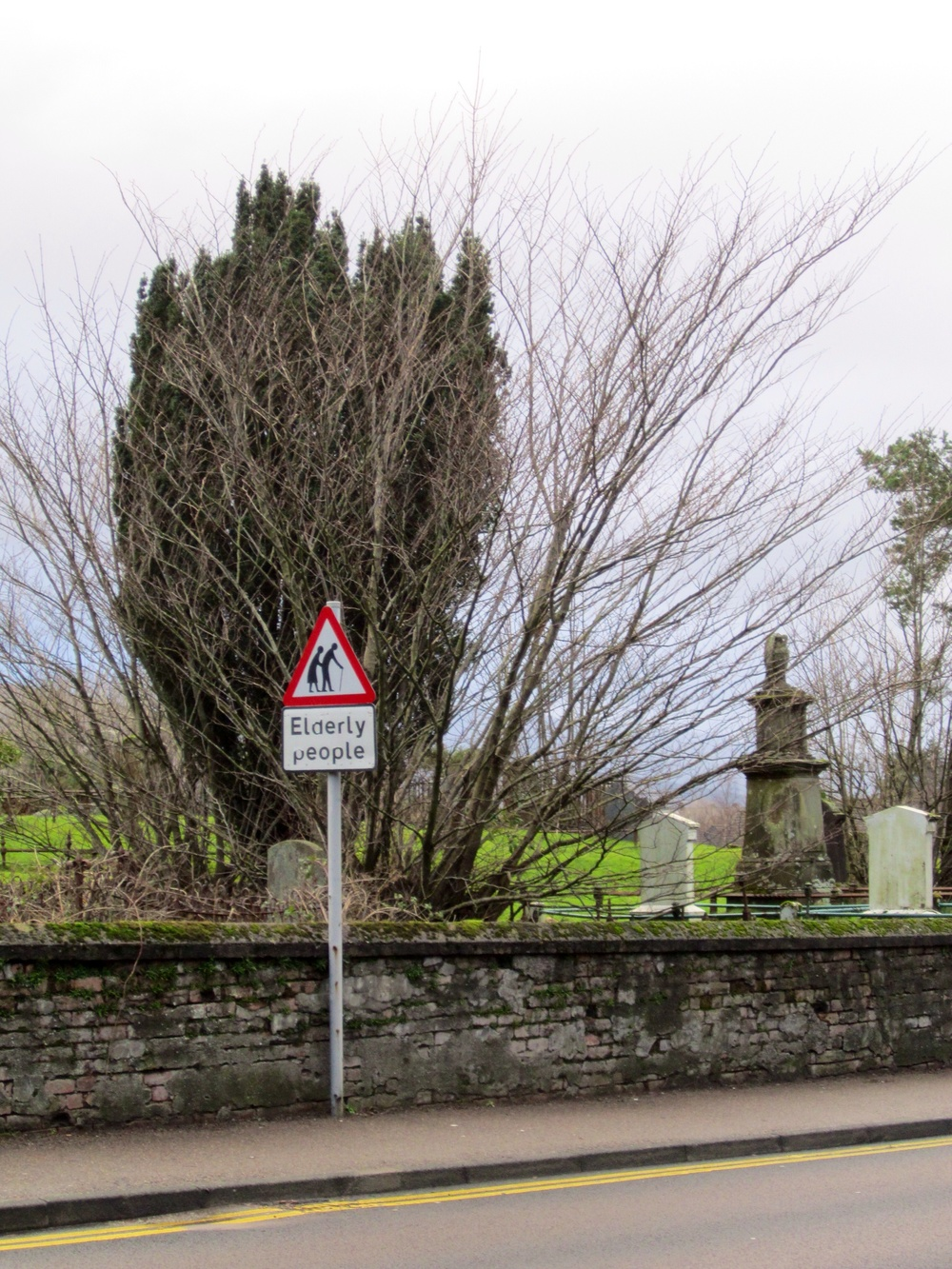 Elderly Crossing, Ft William, Scotland