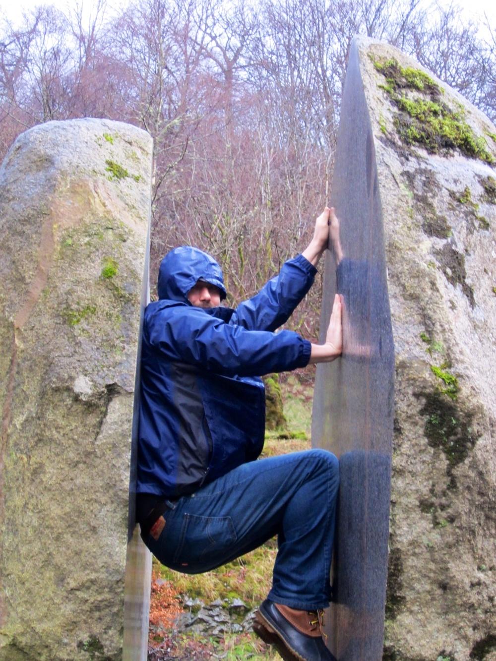 Bill Rock Climbing, Ft William, Scotland